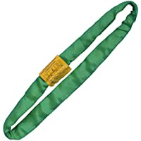 Green 2' Endless Round Lifting Sling Spanset Heavy Duty Polyester Capacity 10600 LBS