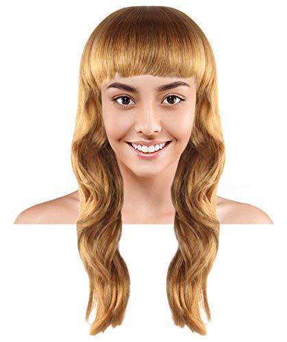 Halloween Party Online Peculiar Olive Wig, Brown Kids HW-1964K ()