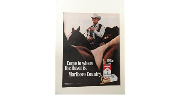 Amazon com: Marlboro Red Or Longhorn filter Cigarettes, 1971