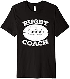 Rugby  Men Women Rugby Coach Vintage Rugby Gift T-shirt | Size S - 5XL