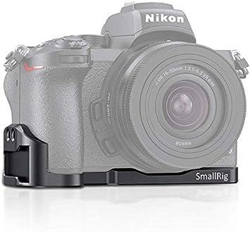 Imagen deSMALLRIG Vlogging Mounting Plate L Plate Placa para Camara Nikon Z50 - LCN2525