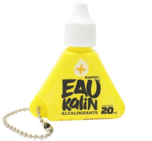 Eau Kalin Alkaline Water Drops | Natural Alkaline Trace Minerals helps boost pH neutralize acidity with Eaukalin | Eau-Kalin de Alipotec Gotas Alcalinizante Parte de la Dieta completa Alipotec, 20mL