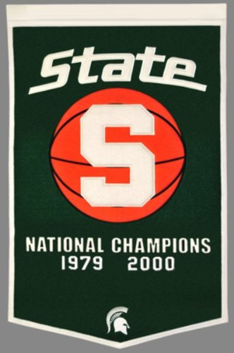 Winning Streak NCAA Michigan State Spartans Dynasty Banner
