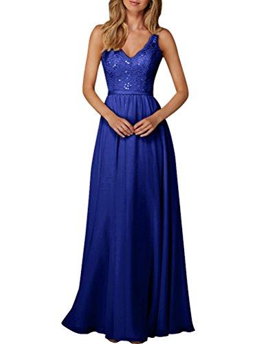 Aiyana - Vestido - trapecio - Sin mangas - para mujer Azul