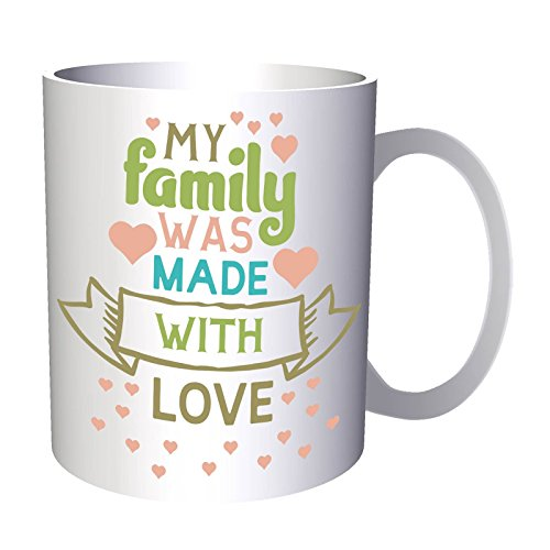 My Family Was Made With 1 11oz Mug t213