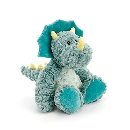 DEMDACO Drake Mellow Fellows Dinosaur Turquoise Children's Plush Stuffed Animal -