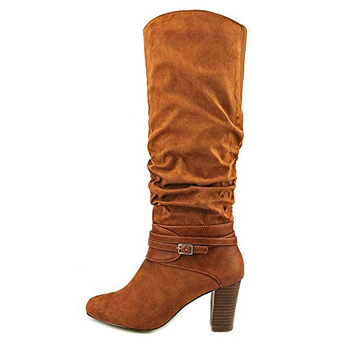 Bella Vita Tabitha II Spitz Wildleder Mode Mitte Calf Stiefel Brown
