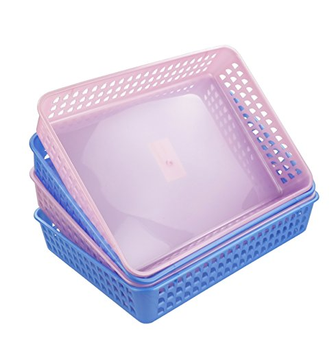 plastic baskets for classroom - 9