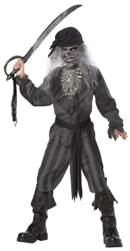 Costumes Boys Halloween Pirate (Ghost Ship Pirate Boy's Costume, Medium, One)
