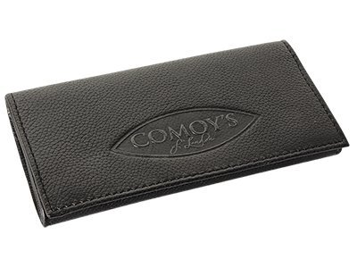 Comoy's Leather Pipe Tobacco Pouch ~ Choose Your Style (Millenium Black (Tobacco Pouch Black Leather)