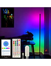 CYBEAR Smart LED Floor Lamp - NextGEN Tuya Smarthome Control - Designed for Gamers and Streamers - Ambient Mood Lighting RGB Corner Floor Standing Light Made for Living Room, Bedroom, Gaming Stations