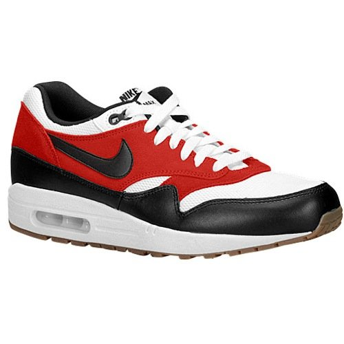 premium selection 87a54 388ba Galleon - NIKE Air Max 1 Essential Mens Trainers 537383 Sneakers Shoes (UK  6.5 US 7.5 EU 40.5, White Black Gamma Orange 122)