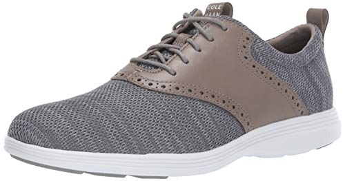 Cole Haan Oxford Heels - Cole Haan Men's Grand Tour Knit Oxford Quiet Shade/Harbor Flat, 13.0 M US