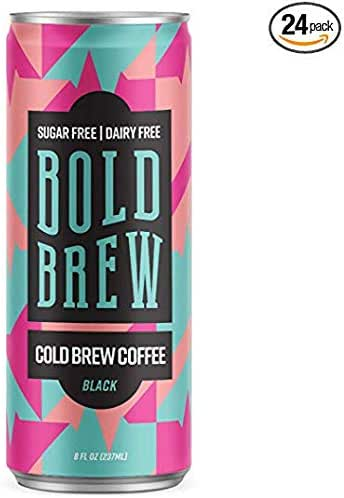 Coffee Drinks: Bold Brew Cold Brew Coffee