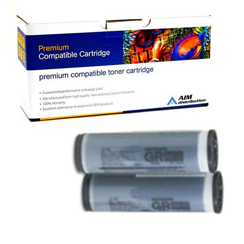 Blue Risograph Ink - AIM Compatible Replacement for Risograph GR-1700/4200 Blue Duplicator Ink (1000CC) (S542) - Generic