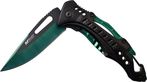 MTECH USA Ballistic MT A705G2 GN Spring Assist Folding Knife, Green