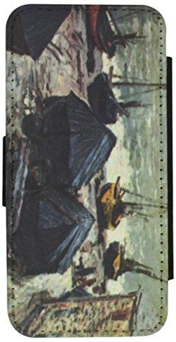 Rikki Knight Claude Monet Art The Boats Flip Wallet iPhon...