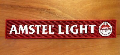 amstel-light-rail-bar-mat-runner-drip-mat-new