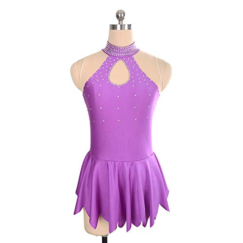 PATNICK Figure Skating Dress Custom-Made Rhinestone Professional