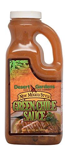 Desert Gardens New Mexico Style Chile Sauce (Green Chile Medium)