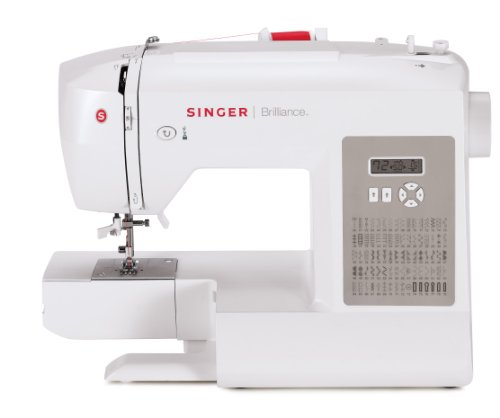 Singer Factory Serviced 6180 Brilliance 80 Stitch Computerized Sewing device family home Kitchen Features