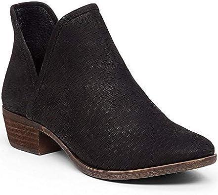 Lucky Brand Bashina Black Suede Leather