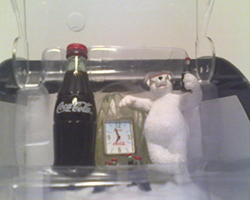 coca cola polar bear clock - 9