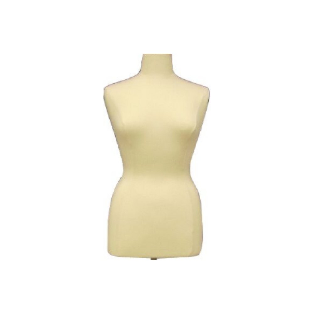 Female Plus Size Dress Form Body Form Mannequin (Size 14-16) with ...