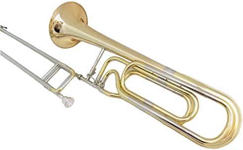 SUERTE F/Bb ダブル スライド トロンボーン ベル 236.5Mm ケース付き マウスピース 楽器