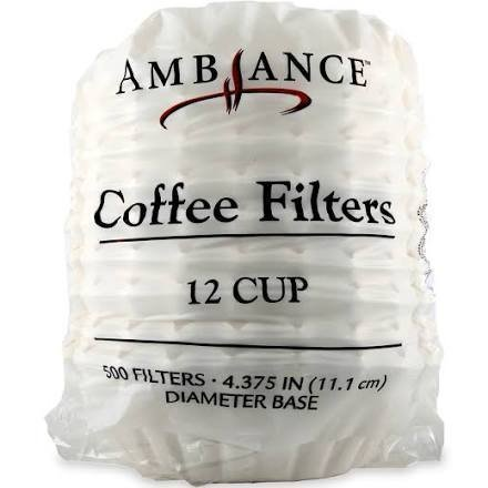 Ambiance Coffee Filters 12 Cup - 500 ()