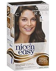 Clairol Nice'n Easy Permanant Hair Colour, 4 Dark Brown, 1 count