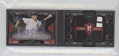 Andrew Miller #4/10 (Baseball Card) 2016 Topps Museum Collection - Single-Player Primary Pieces Quad Relic Autograph Books #PPAR-AM (Miller Primary Collection)