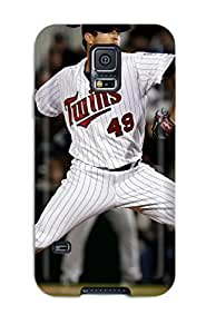 Galaxy S5 Cover Case - Eco-friendly Packaging(minnesota Twins )