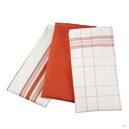 Le Creuset Kitchen Towels, Flame (Le Creuset Kitchen Towel)