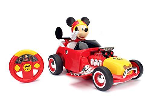 Image of the Jada Toys Disney Mickey Transforming Roadster RC Vehicle (2 Piece)