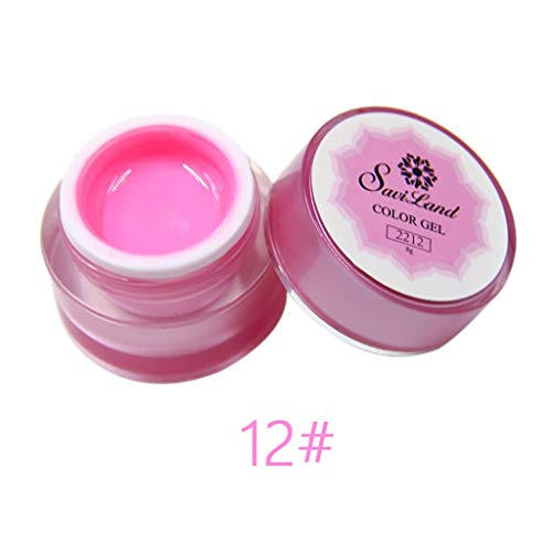 Palarn Nail Art, Thickness Builder Gel Nail Gel Painting Brushed Nail Art Decoration Nail Polish