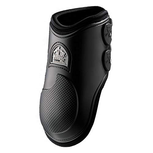 Veredus - Fetlock Carbon Gel Vento Rear - Horse Boots - Made in Italy - Black