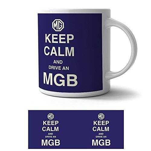 Original Metal Sign Ceramic Mug Keep Calm MG
