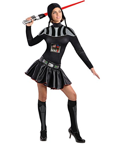 Secret Wishes Star Wars Female Darth Vader Costume, Black, X-Small]()