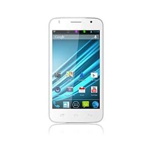Logicom E500 4GB Color blanco - Smartphone (SIM doble, Android, GSM, HSDPA, UMTS, WCDMA, Barra, Sin suscripción)