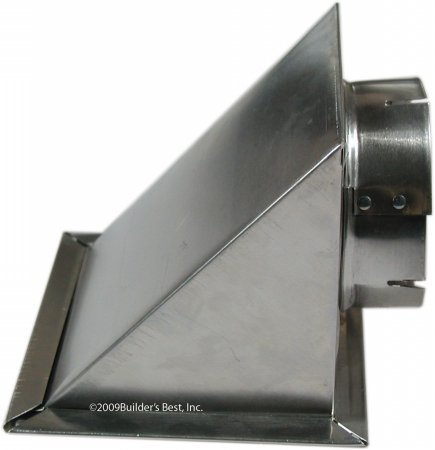 Price comparison product image Builder's Best CECOMINOD035211 Aluminum Dryer Eave Vent