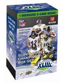 Pittsburgh Steelers Upper Deck Super Bowl XLIII Champions Commemorative Box Set