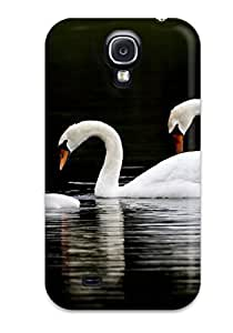 Brand New 4/4S Defender Case For Iphone(swan Family) by icecream design