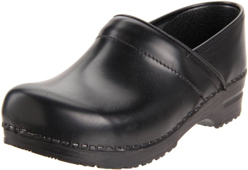 Sanita Women's Professional Cabrio Clog,Black,38 EU/7.5-8 M US
