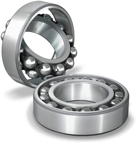 Straight Bore Open NSK 1208 TNG 80 mm OD C0 18 mm Width Self-Aligning Ball Bearing 40 mm ID