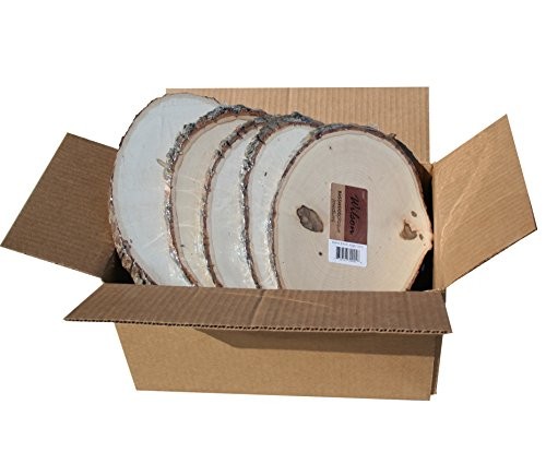 - Basswood Plaque (Round/Oval) Bulk Quantity Value Box (Medium (7-9 inch Diameter) Pack of 10)