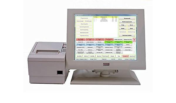 Producto touch-terminal punto de venta con toma de Software Bistro ...