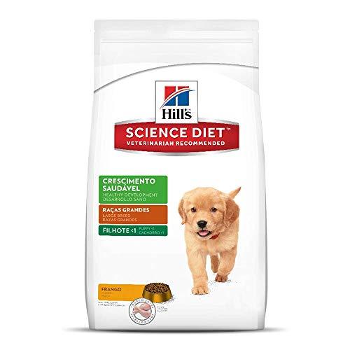 Ração Hill's Science Diet Crescimento Saudável Raças Grandes para Cães Filhotes - 7,5kg