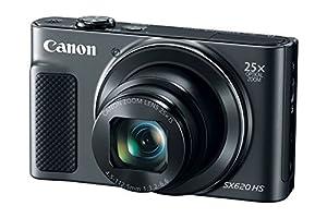Canon PowerShot SX620 Digital Camera w/25x Optical Zoom - Wi-Fi & NFC Enabled (Black) - Memory Card Bundle from DigitalAndMore