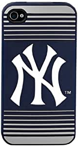 Forever Collectibles New York Yankees Team Logo Silicone Apple iPhone 4 & 4S Case by icecream design